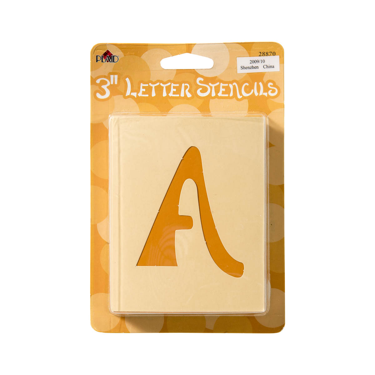 Plaid ® Stencils - Value Packs - Letter Stencils - Swashbuckle - 28870