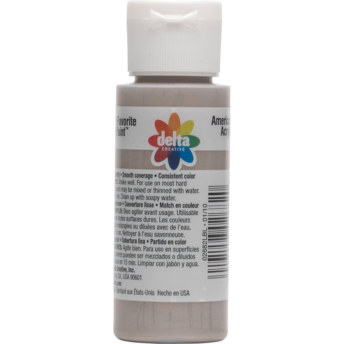 Delta Ceramcoat ® Acrylic Paint - Metallic Aluminum, 2 oz. - 026820202W