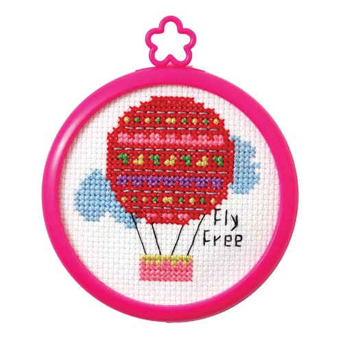 Bucilla ® My 1st Stitch™ - Counted Cross Stitch Kits - Mini - Fly Free
