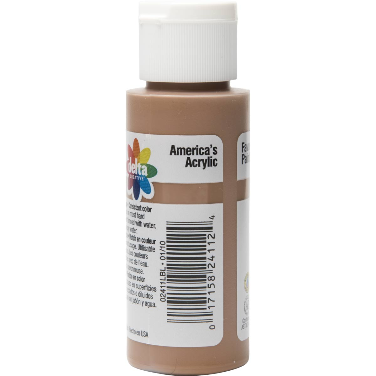 Delta Ceramcoat ® Acrylic Paint - Raw Sienna, 2 oz.