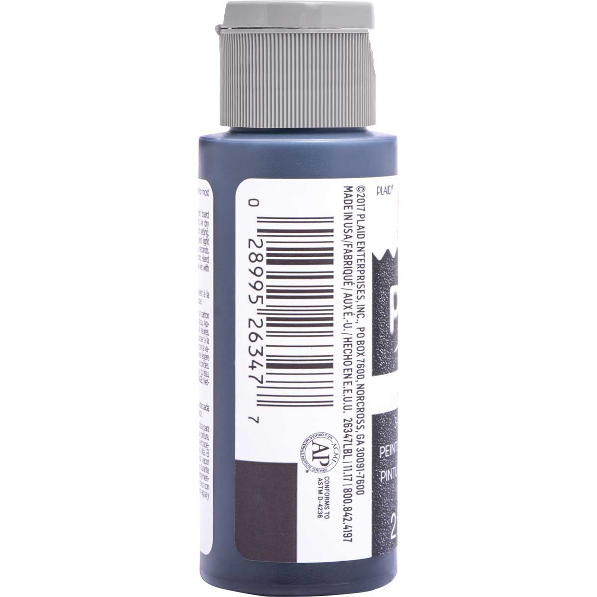 Fabric Creations™ Plush™ 3-D Fabric Paints - Licorice, 2 oz.