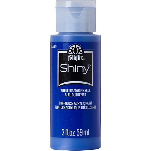 FolkArt ® Shiny™ Acrylic Paint - Ultramarine Blue, 2 oz.