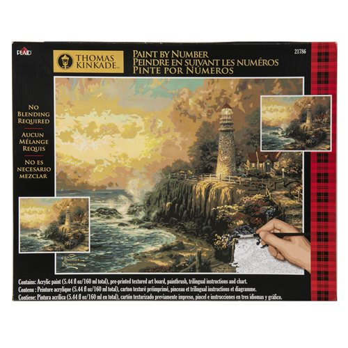 Plaid ® Paint by Number - Thomas Kinkade™ - The Light of Peace