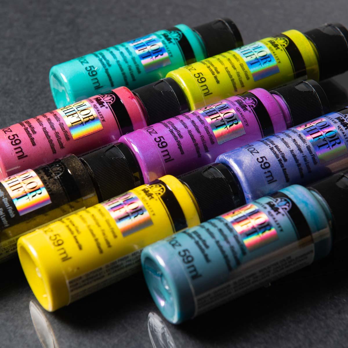FolkArt ® Color Shift™ Acrylic Paint Set 8 Color - PROMOCS8