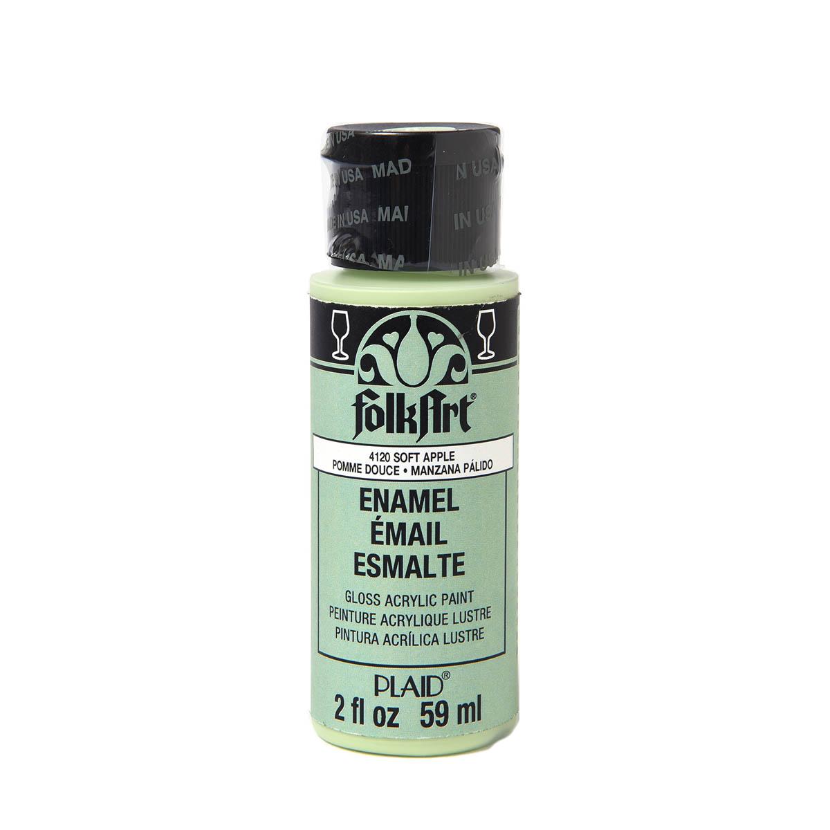 FolkArt ® Enamels™ - Soft Apple, 2 oz. - 4120