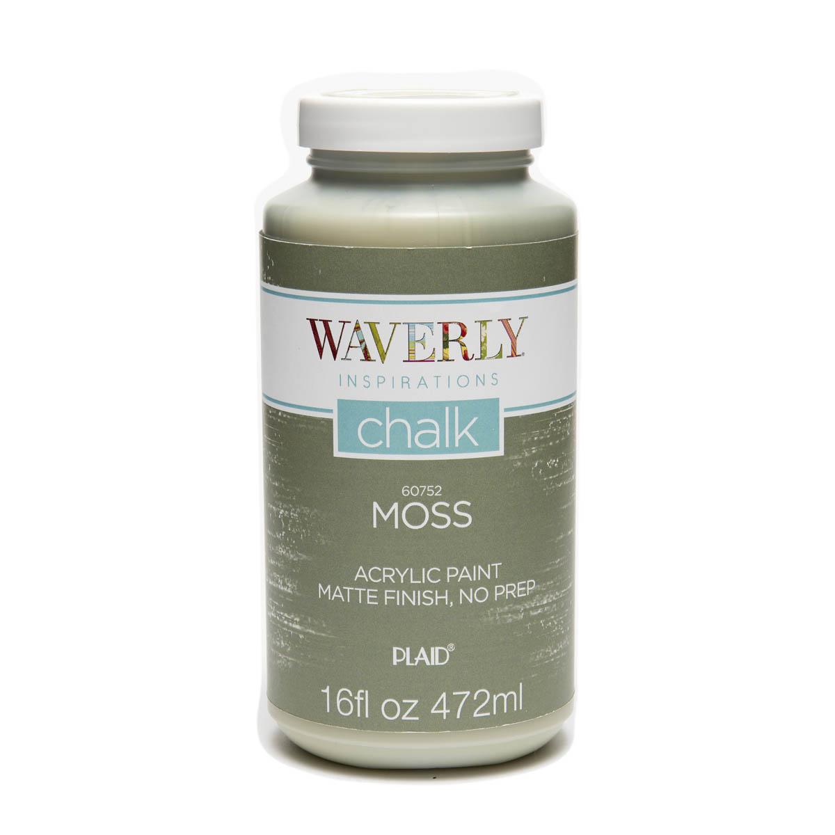 Waverly ® Inspirations Chalk Finish Acrylic Paint - Moss, 16 oz. - 60752E