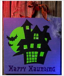 Happy Haunting Sign