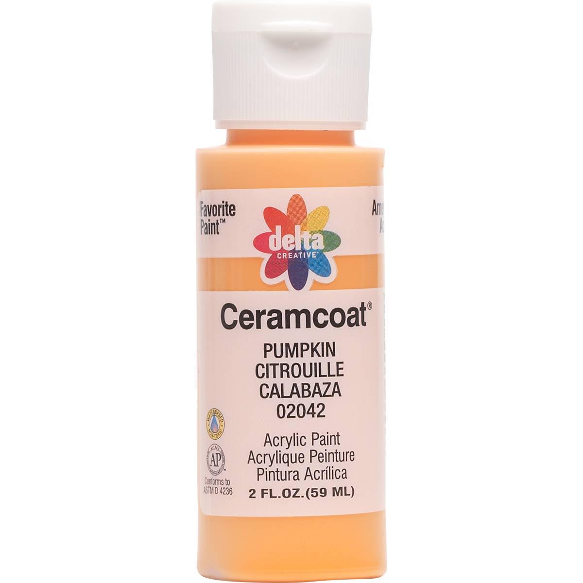 Delta Ceramcoat ® Acrylic Paint - Pumpkin, 2 oz. - 020420202W