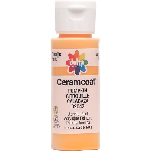 Delta Ceramcoat ® Acrylic Paint - Pumpkin, 2 oz. - 020420202W