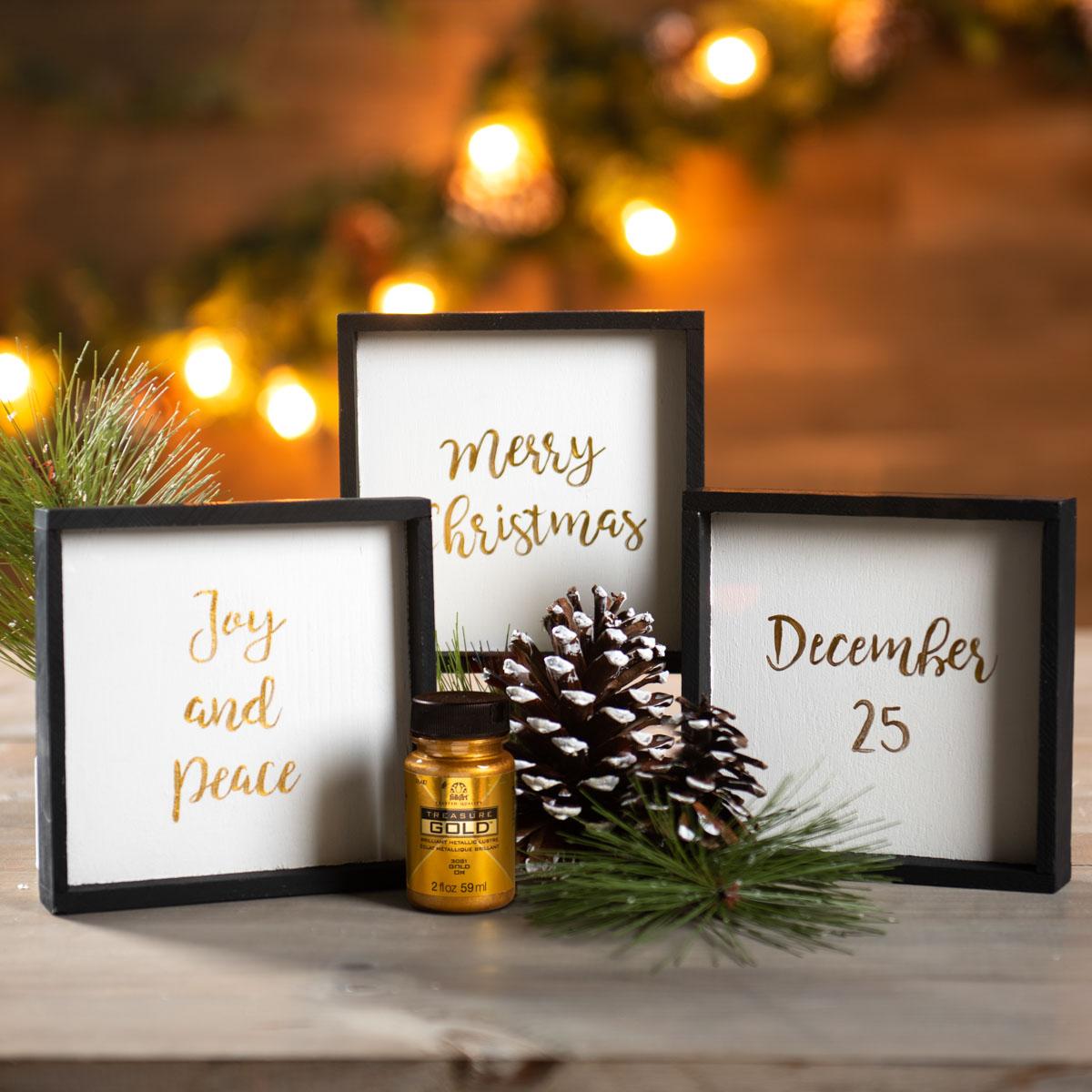 Small Christmas Signs
