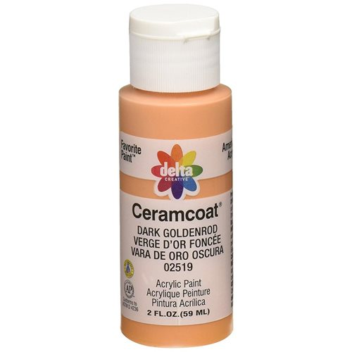 Delta Ceramcoat ® Acrylic Paint - Dark Goldenrod, 2 oz.