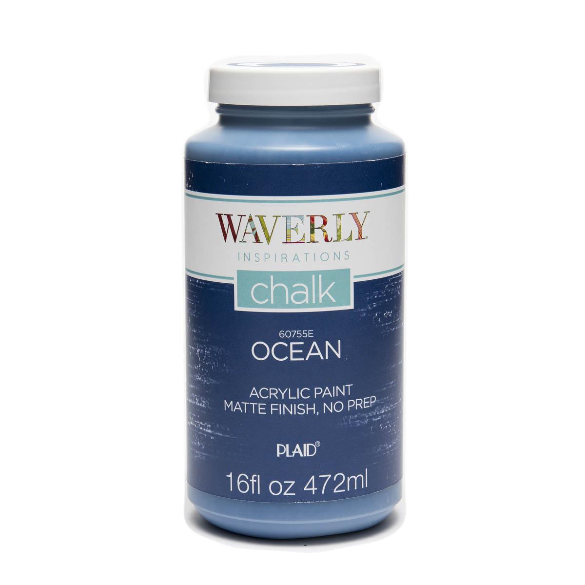 Waverly ® Inspirations Chalk Finish Acrylic Paint - Ocean, 16 oz. - 60755E