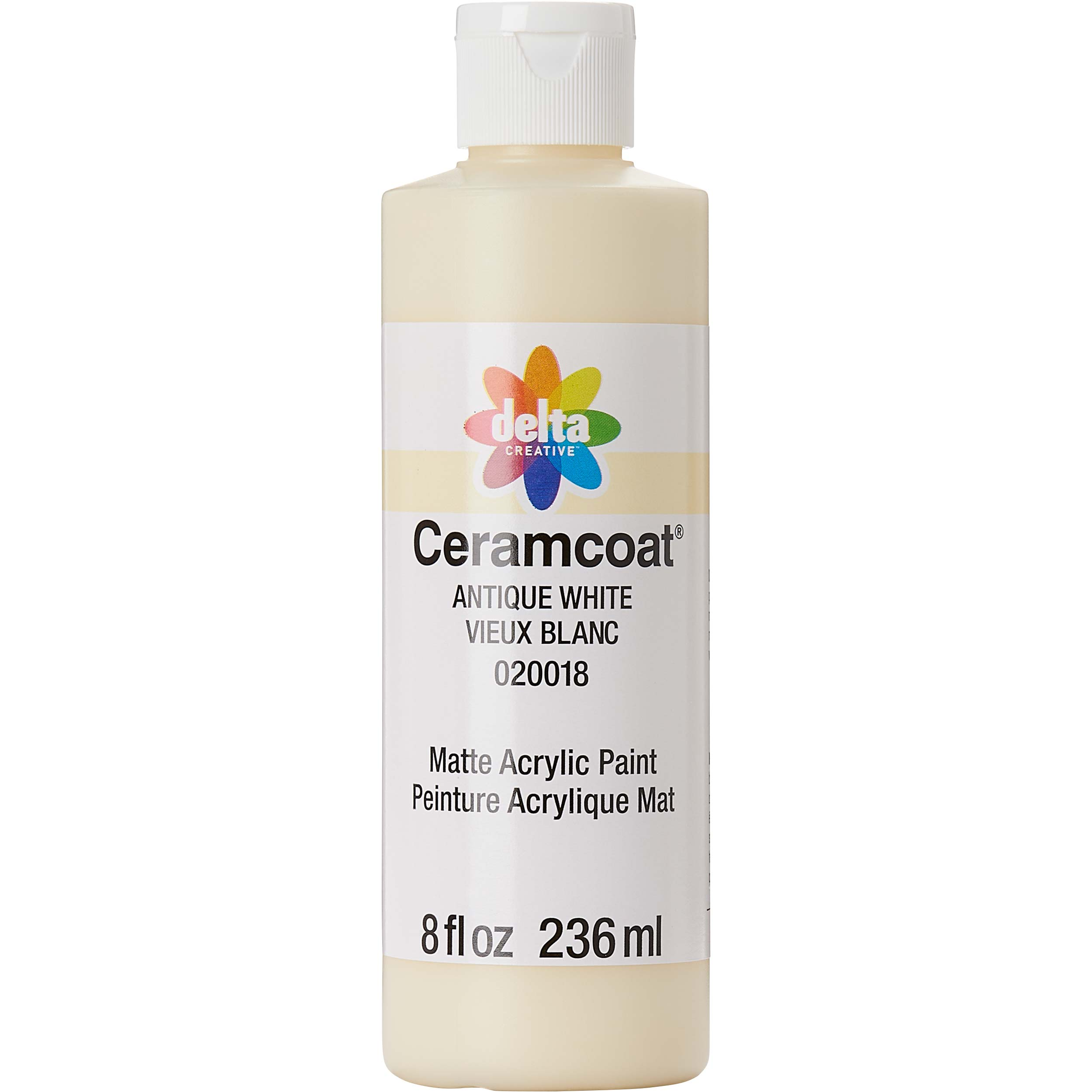 Delta Ceramcoat ® Acrylic Paint - Antique White, 8 oz. - 020010802W