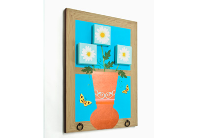 Window Sill Daisy Canvas
