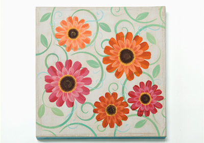 Gerber Daisy Canvas