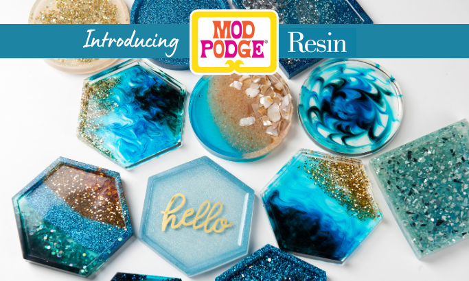 Introducing Mod Podge Resin