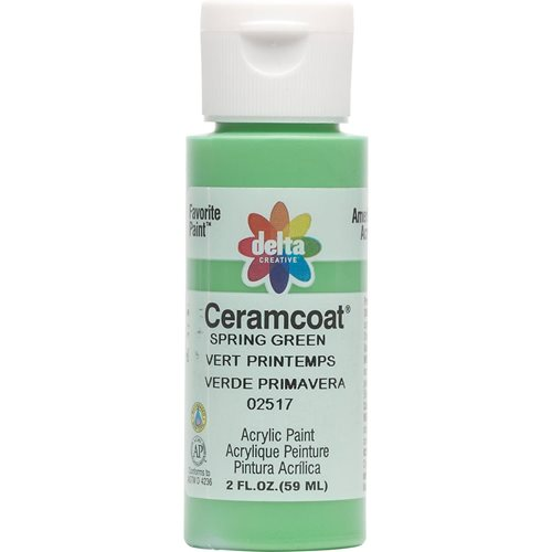 Delta Ceramcoat ® Acrylic Paint - Spring Green, 2 oz.