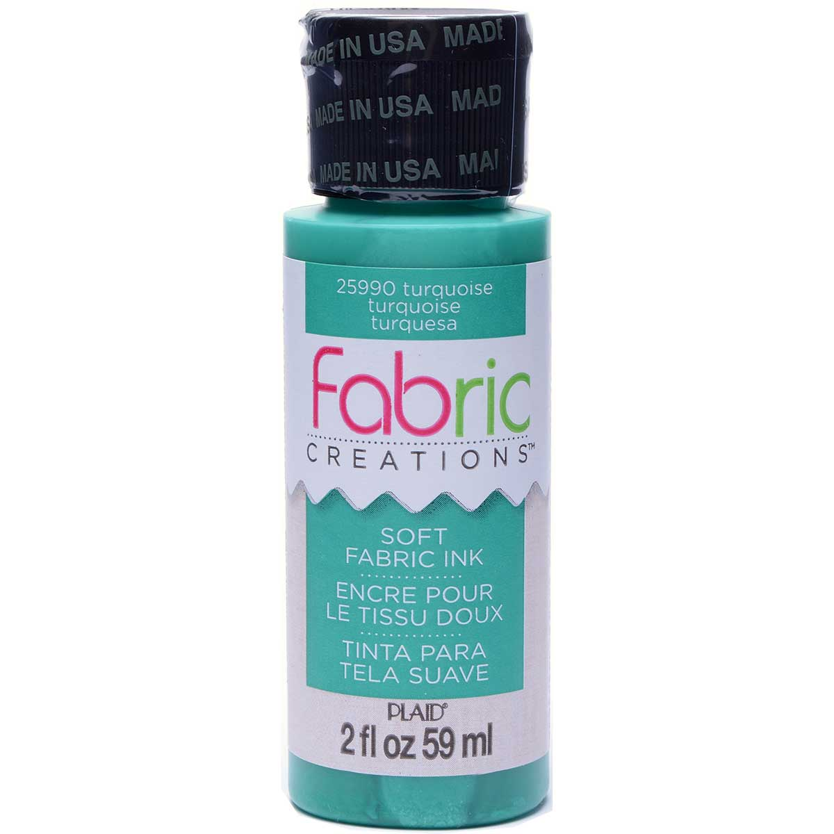 Fabric Creations™ Soft Fabric Inks - Turquoise, 2 oz.