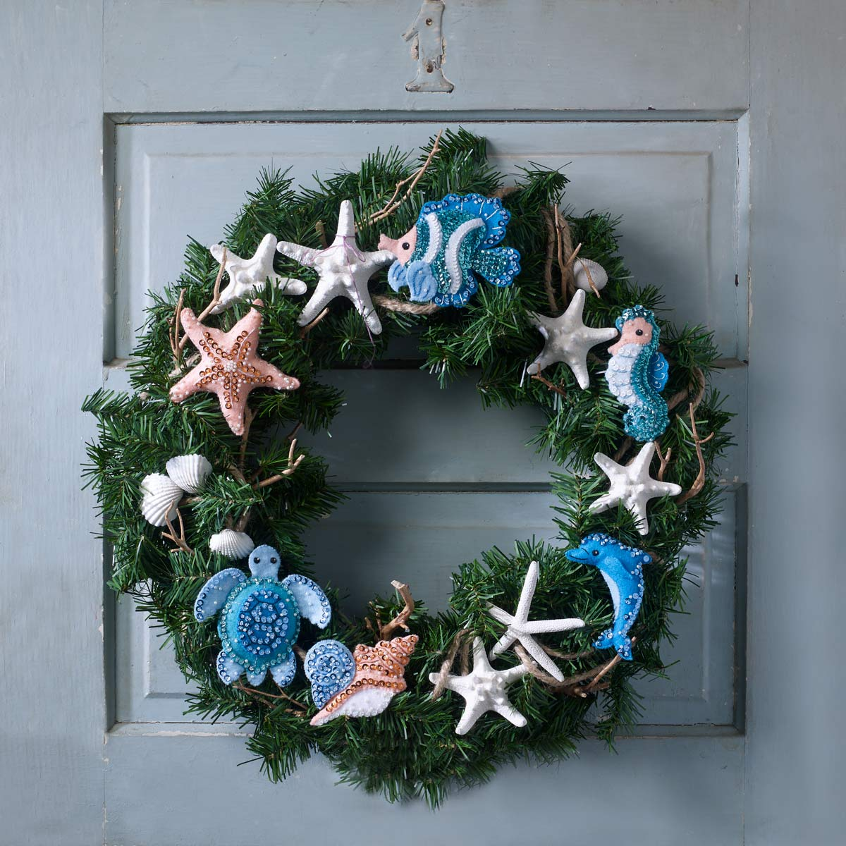Bucilla ® Seasonal - Felt - Ornament Kits - Under the Sea