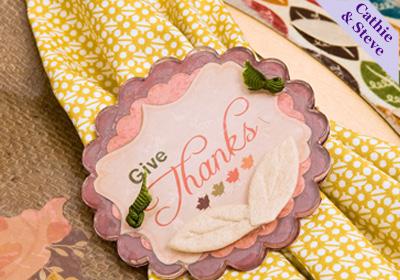 Thanksgiving Podgeable Napkin Ring
