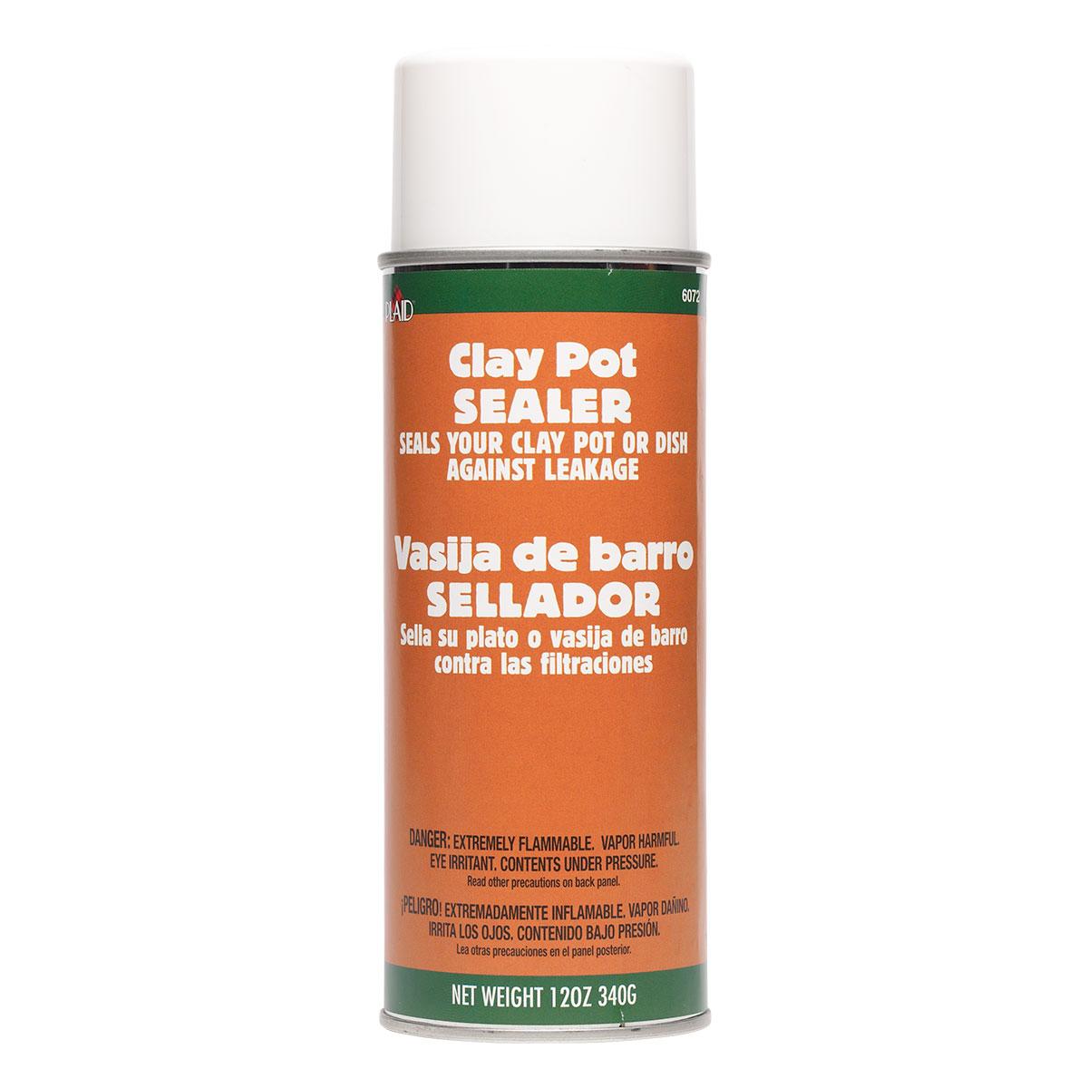 Plaid ® Aerosols - Clay Pot Sealer - 6072