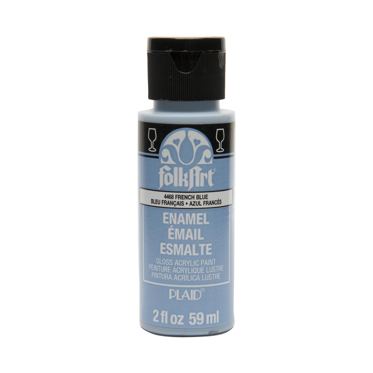 FolkArt ® Enamels™ - French Blue, 2 oz. - 4468