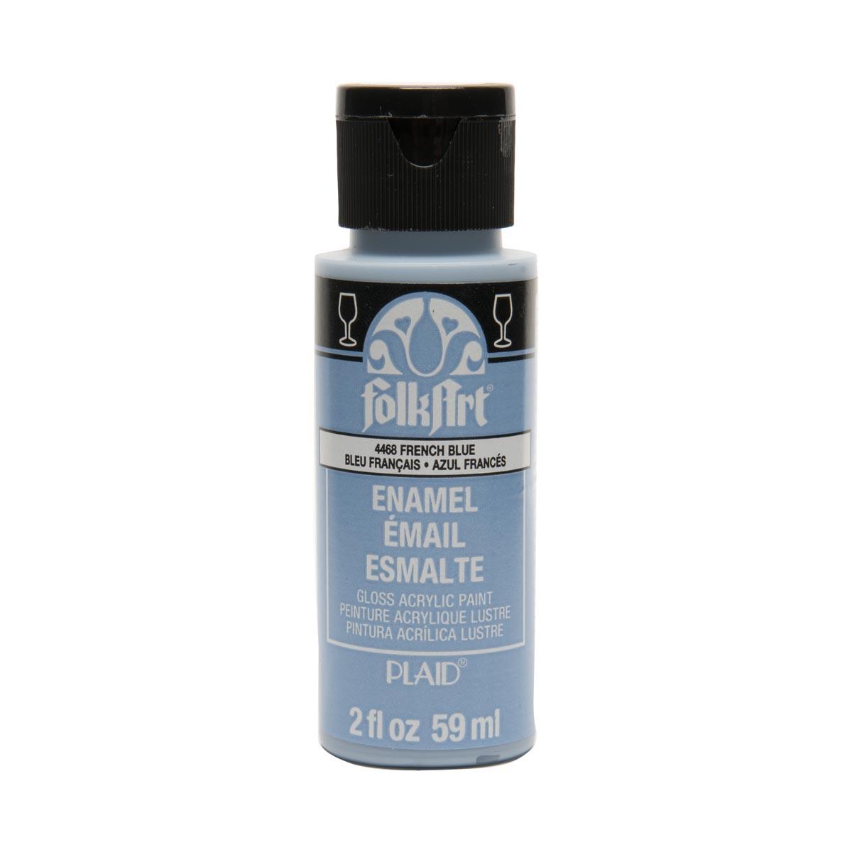 FolkArt ® Enamels™ - French Blue, 2 oz.