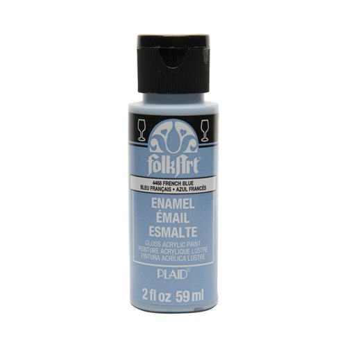 FolkArt ® Enamels™ - French Blue, 2 oz.