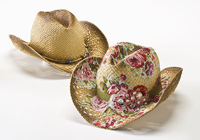 Cowboy Hat with Cowgirl Style