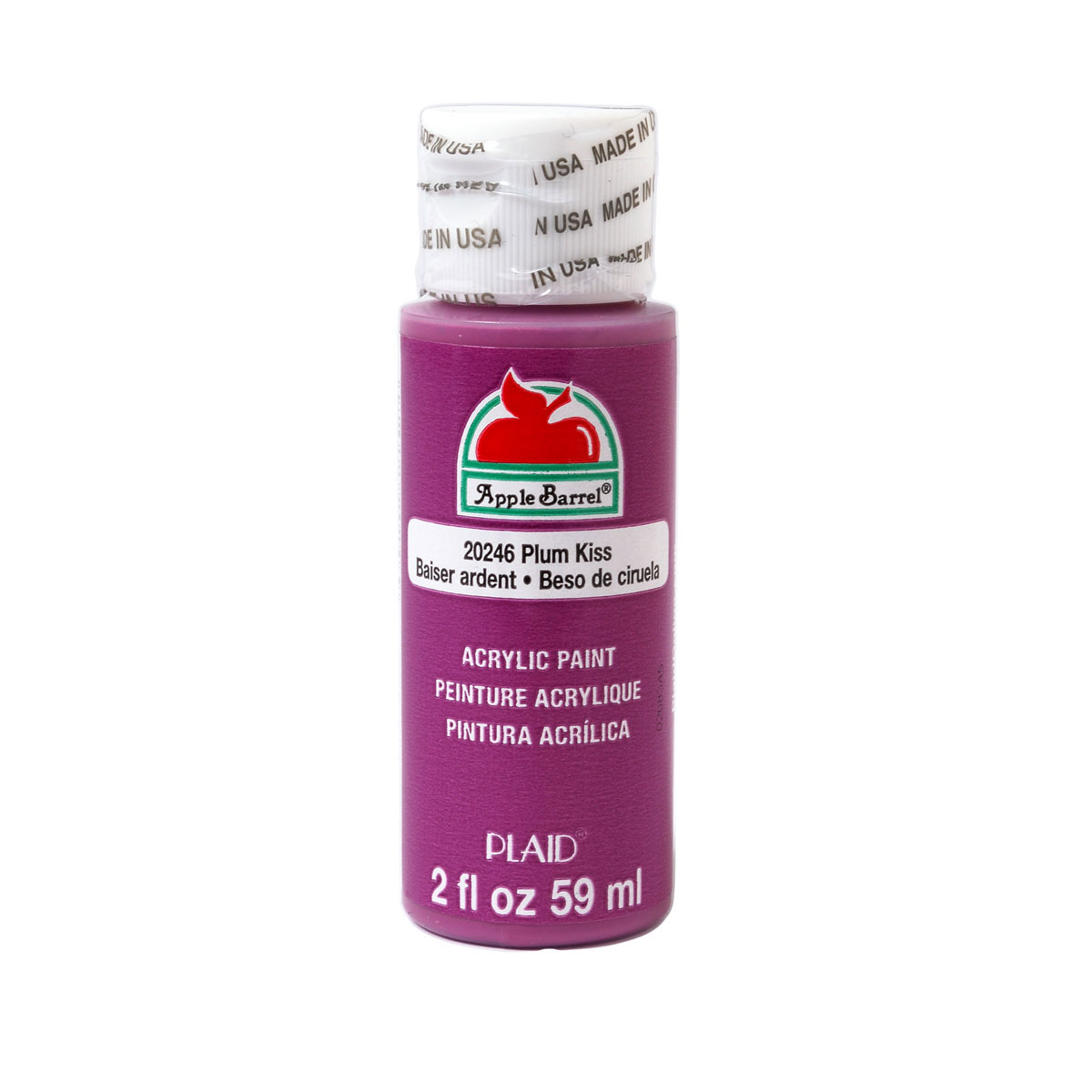 Apple Barrel ® Colors - Plum Kiss, 2 oz.