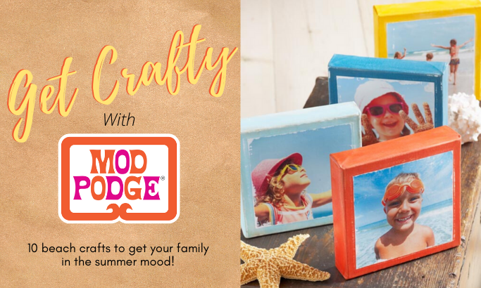 Get Crafty with Mod Podge - Part 8