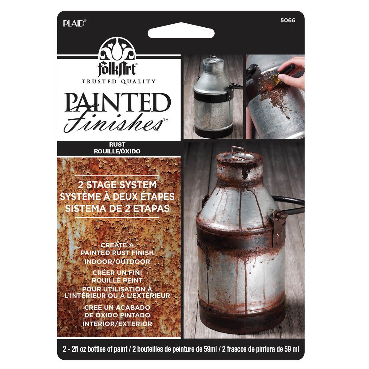 FolkArt ® Painted Finish Kit - Rust