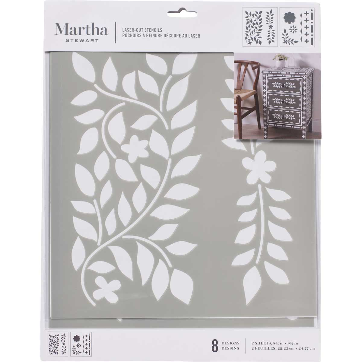 Martha Stewart ® Laser-Cut Stencil - Moroccan Inlay - 17652