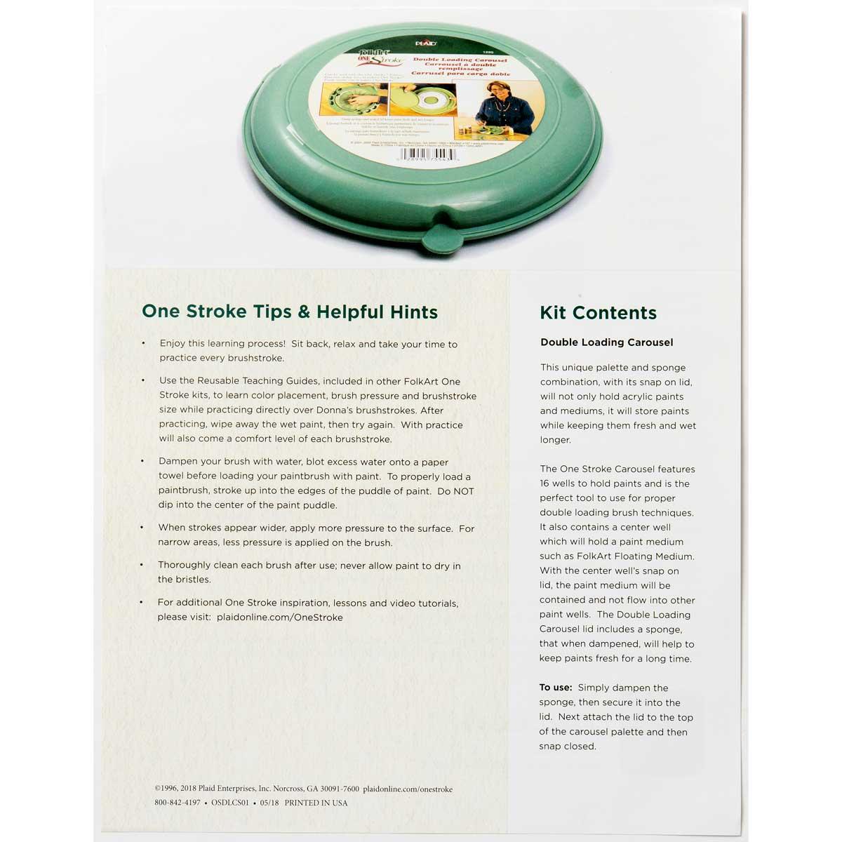 FolkArt ® One Stroke™ Accessories - Double Loading Carousel