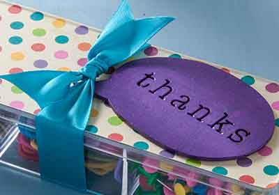 Supply Organizer for Teacher Appreciation Day
