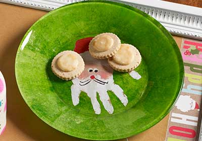 Christmas Plate for Kids