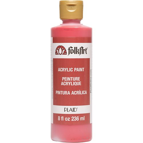 FolkArt ® Acrylic Colors - Lipstick Red, 8 oz.
