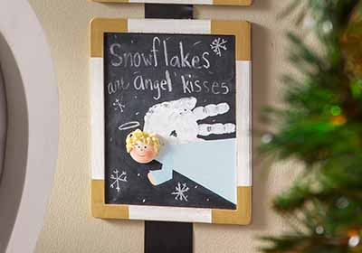 Angel Trio Chalkboards