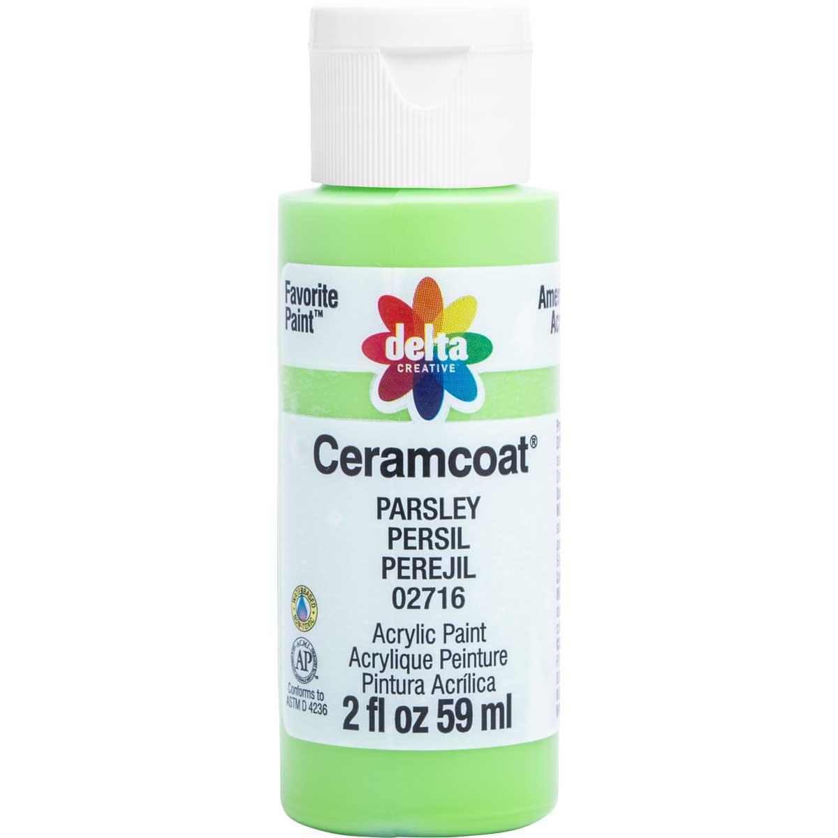 Delta Ceramcoat ® Acrylic Paint - Parsley, 2 oz. - 02716