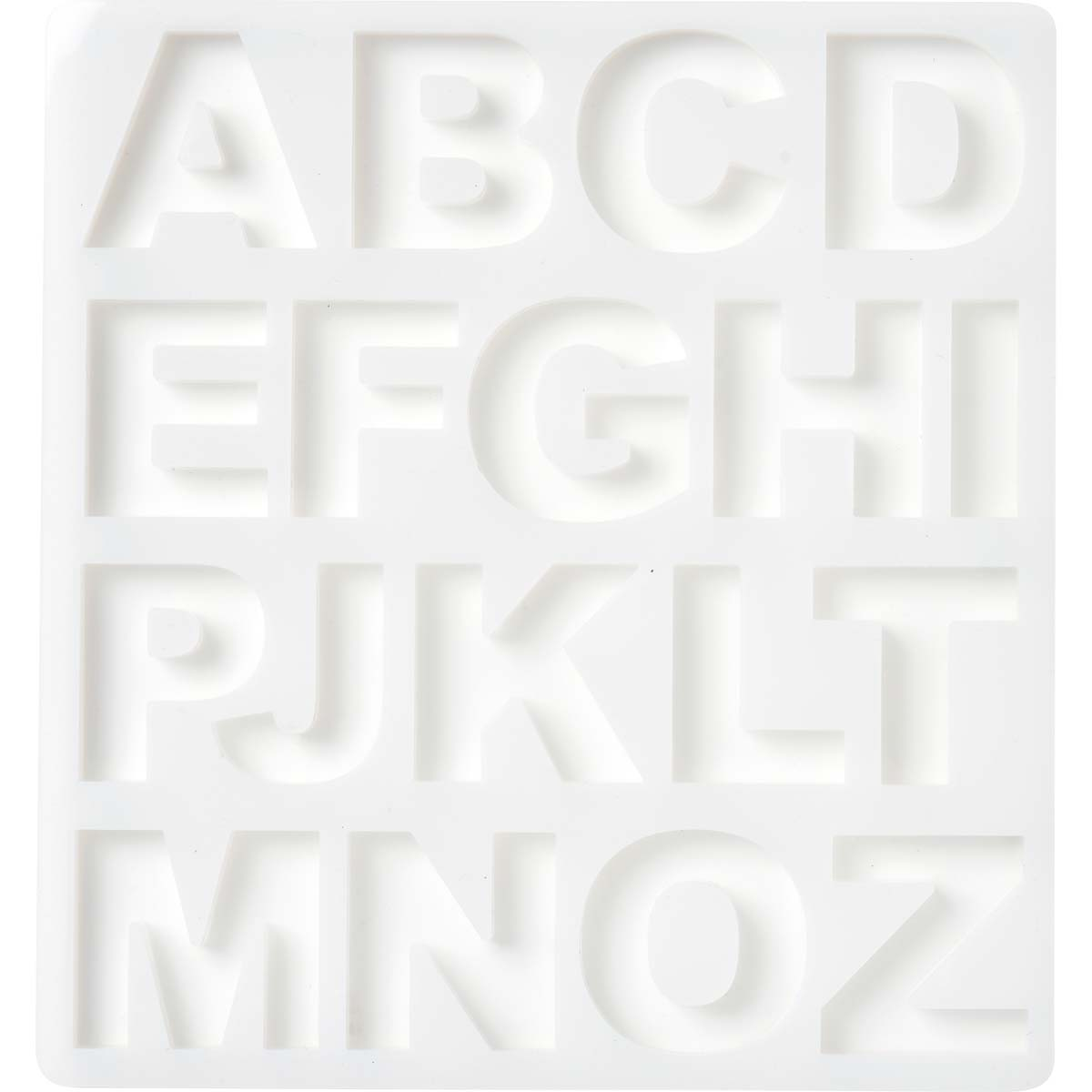 Mod Podge ® Silicone Molds - Alphabet, 2 pc. - 25293