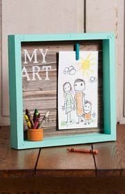 Shadowbox Picture Frames