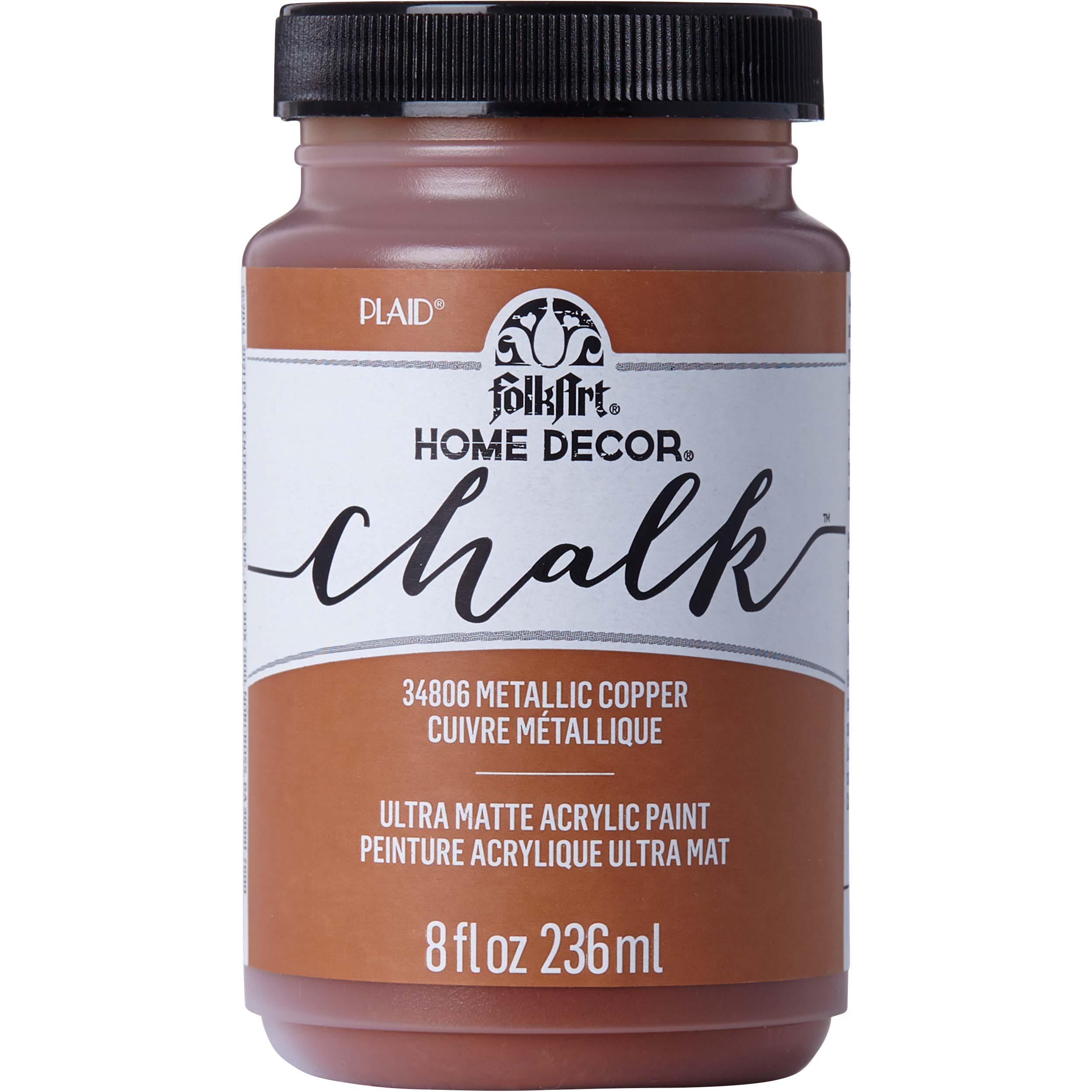 FolkArt ® Home Decor™ Chalk - Metallic Copper, 8 oz. - 34806