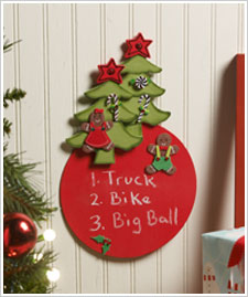 Christmas Wish List Board