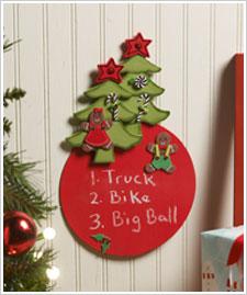 Christmas Wish List Board