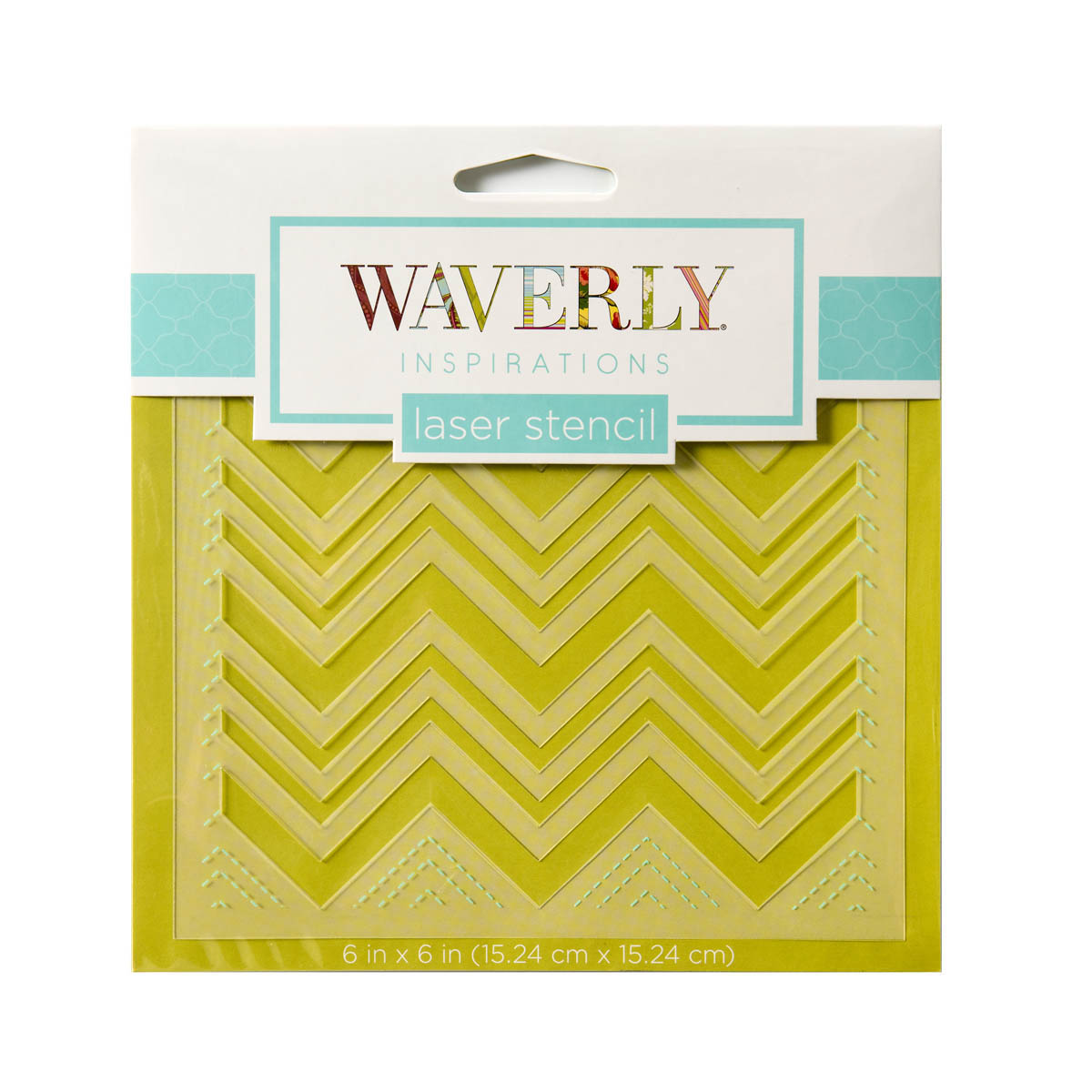 Waverly ® Inspirations Laser Stencils - Accent - Chevron, 6