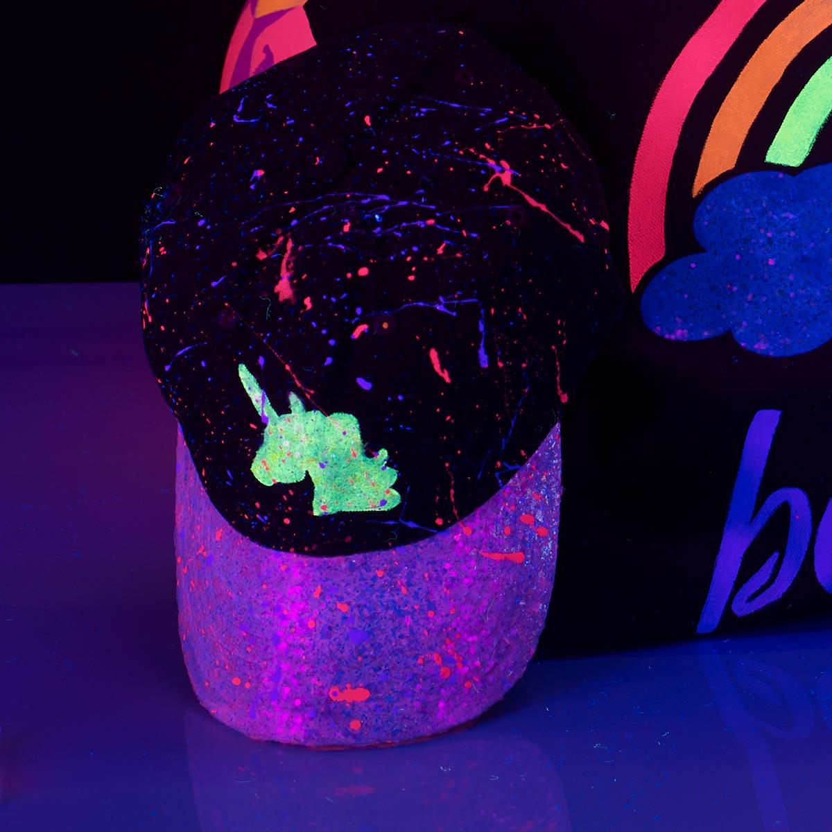 DIY Glow-in-the-Dark Cap