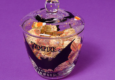 Vampire Vittles Candy Jar