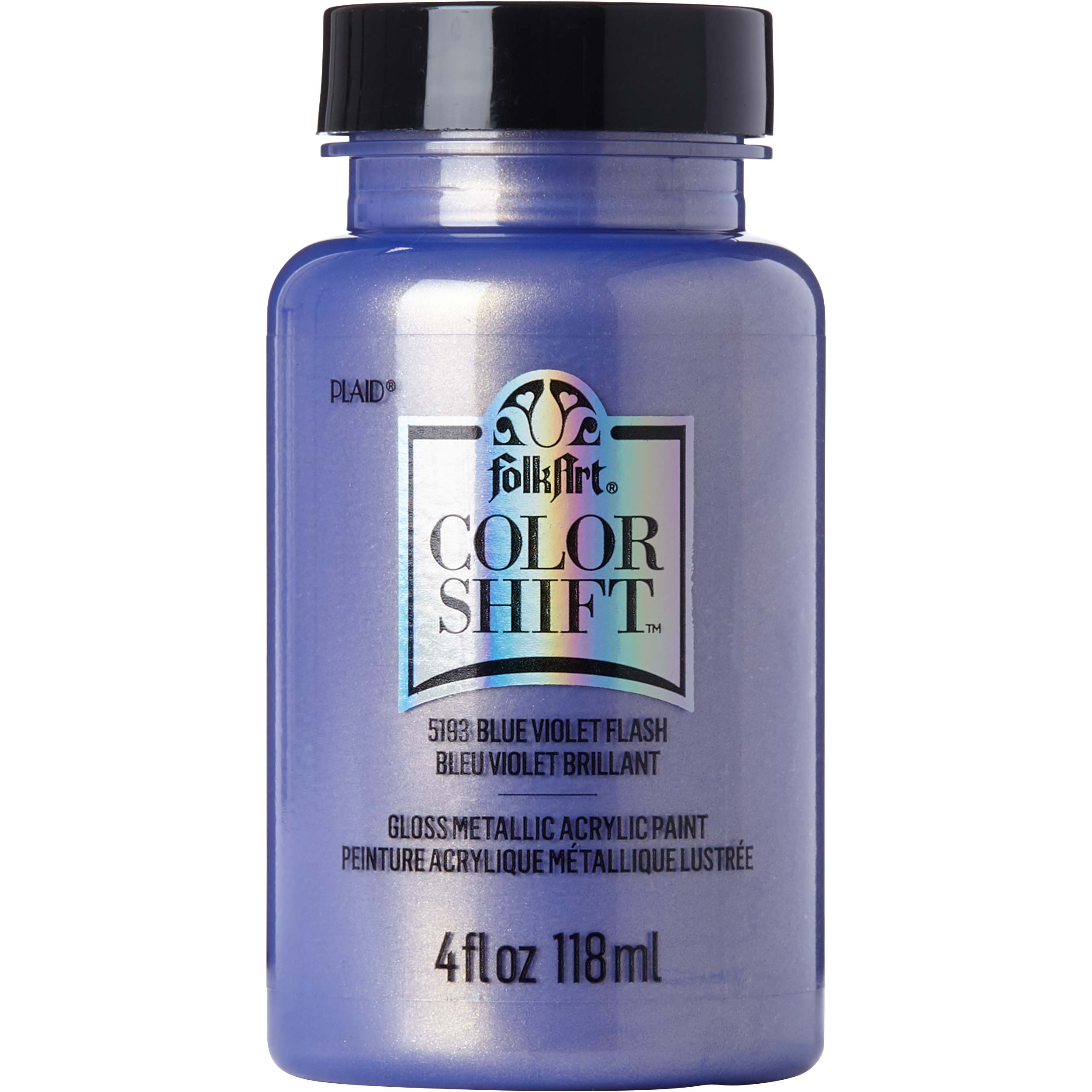 FolkArt ® Color Shift™ Acrylic Paint - Blue Violet Flash, 4 oz. - 5193