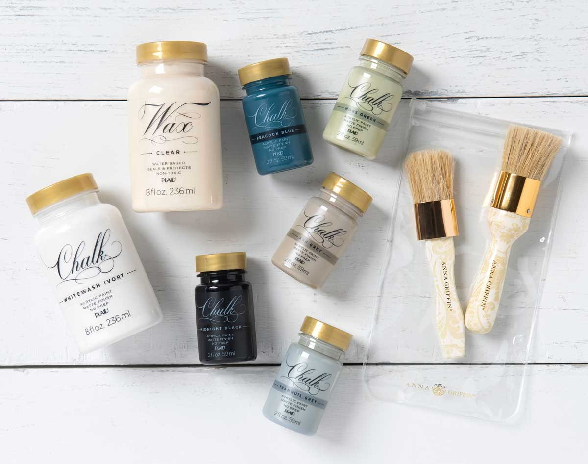 Anna Griffin ® Perfect Palette Chalk and Wax Kit