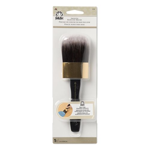 "Folkart ® Brushes - Smooth Basecoat 2"" Carded - 50718"